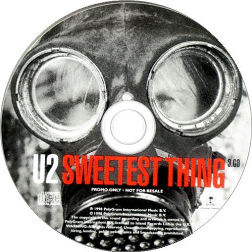 "U2 Sweetest Thing CD single (CD5 / 5"") UK U-2C5SW123511"