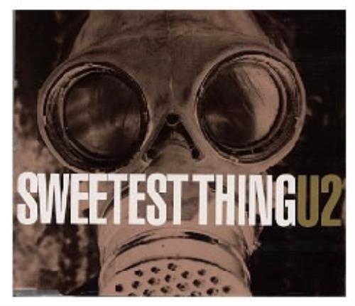 "U2 Sweetest Thing CD single (CD5 / 5"") UK U-2C5SW174029"