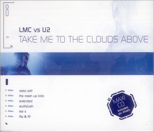 U2 Take Me To The Clouds Above 2-CD single set (Double CD single) UK U-22STA271053
