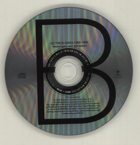 U2 The Best & The B-Sides Of 1980-1990 2 CD album set (Double CD) UK U-22CTH124081