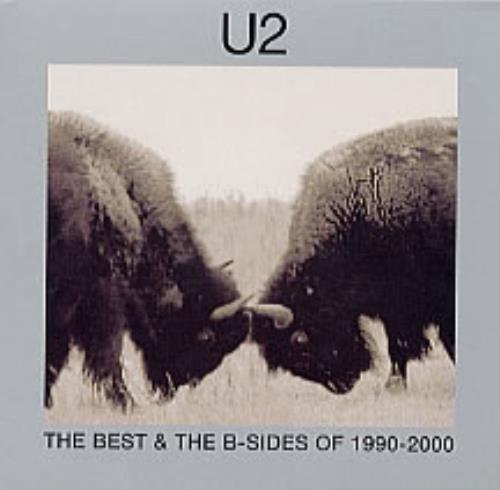 U2 The Best & The B-Sides of 1990-2000 2 CD album set (Double CD) UK U-22CTH225620