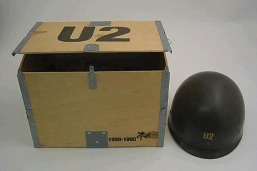 U2 The Best Of 1980-1990 - Helmet memorabilia UK U-2MMTH127552
