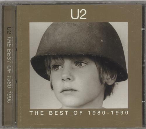 U2 The Best Of 1980-1990 CD album (CDLP) UK U-2CDTH733427