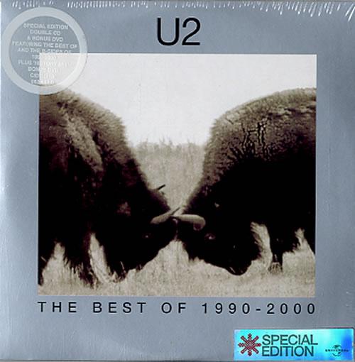 U2 The Best Of 1990 – 2000 3-disc CD/DVD Set UK U-23DTH223054