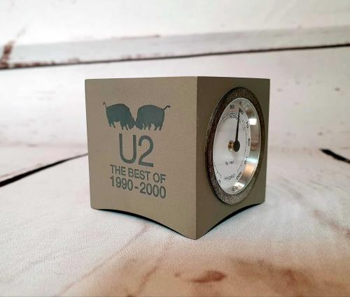 U2 The Best Of 1990-2000 - hygro-thermometer memorabilia UK U-2MMTH233401