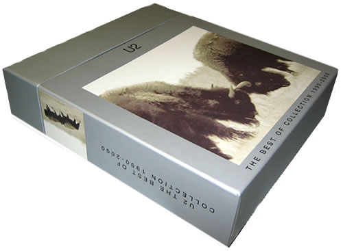 U2 The Best Of Collection 1990-2000 - Sealed box set UK U-2BXTH236020