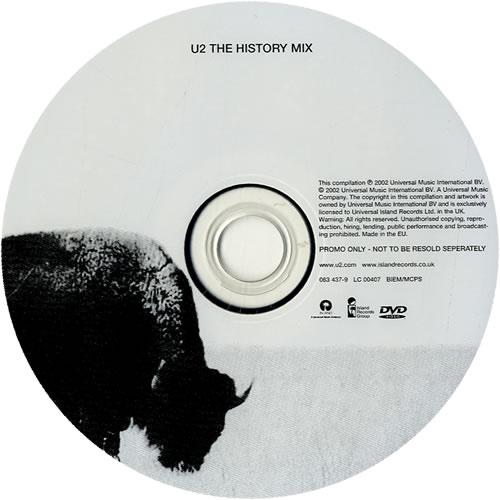 U2 The Best Of DVD Single UK U-2DSTH323432