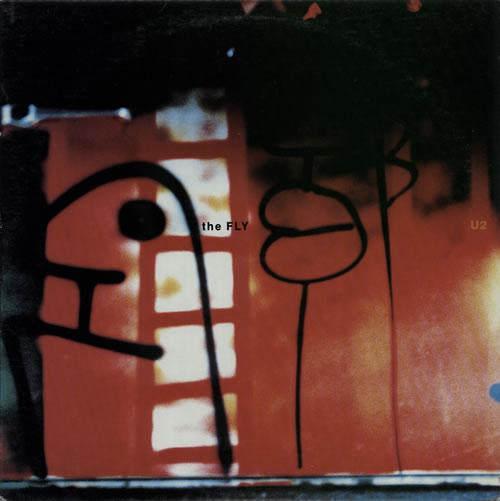 "U2 The Fly 12"" vinyl single (12 inch record / Maxi-single) US U-212TH104035"