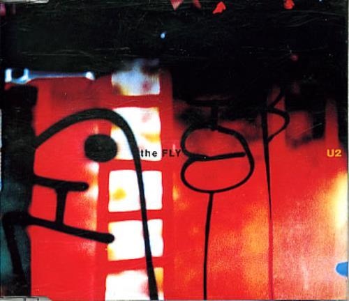 "U2 The Fly CD single (CD5 / 5"") French U-2C5TH180061"