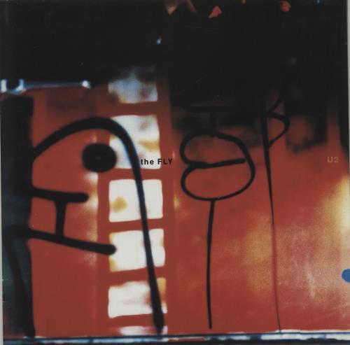 "U2 The Fly 12"" vinyl single (12 inch record / Maxi-single) UK U-212TH21659"