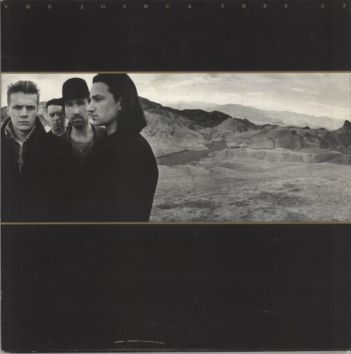 U2 The Joshua Tree + Insert - EX vinyl LP album (LP record) UK U-2LPTH318827
