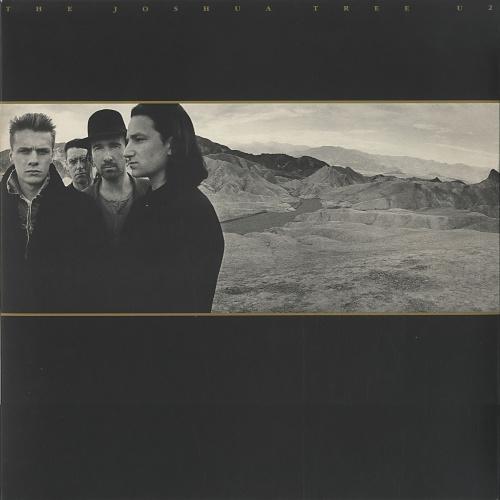 U2 The Joshua Tree + Insert vinyl LP album (LP record) UK U-2LPTH153090