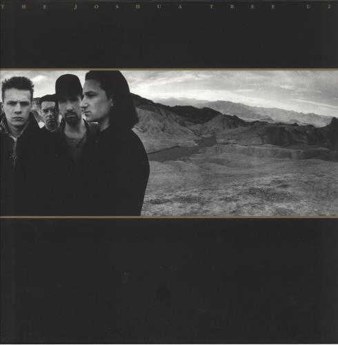 U2 The Joshua Tree - 180gm Gold Vinyl 2-LP vinyl record set (Double Album) UK U-22LTH739881
