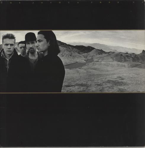 U2 The Joshua Tree - VG+ vinyl LP album (LP record) UK U-2LPTH683954