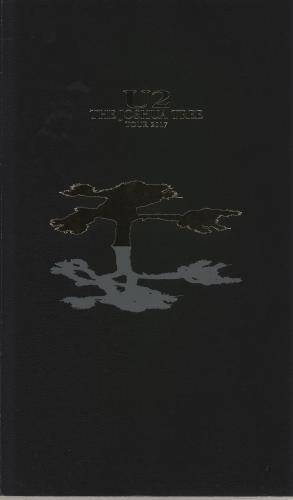 U2 The Joshua Tree Tour 2017 tour programme UK U-2TRTH747938