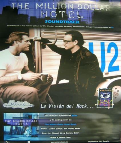 U2 The Million Dollar Hotel poster Mexican U-2POTH158154