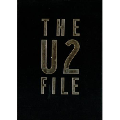 U2 The U2 File book Japanese U-2BKTH418993