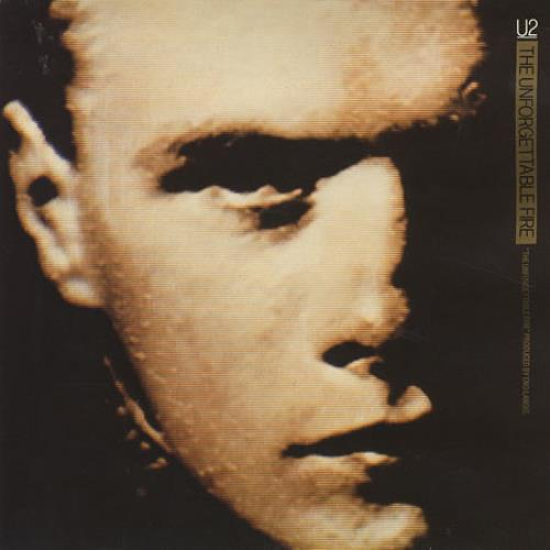 """U2 The Unforgettable Fire - Double Pack - EX 7"""" vinyl single (7 inch record) UK U-207TH360394"""
