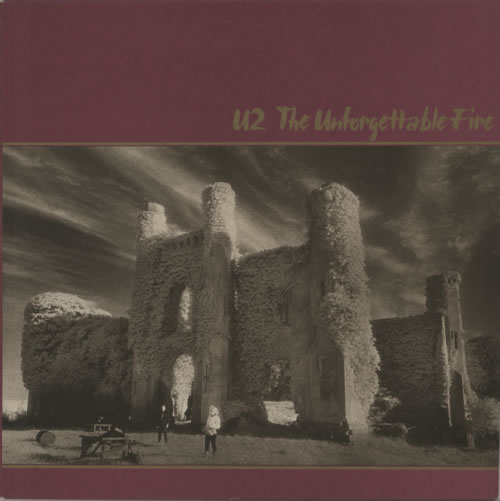 U2 The Unforgettable Fire vinyl LP album (LP record) UK U-2LPTH114388