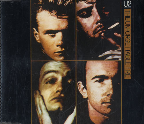 "U2 The Unforgettable Fire CD single (CD5 / 5"") Austrian U-2C5TH02277"