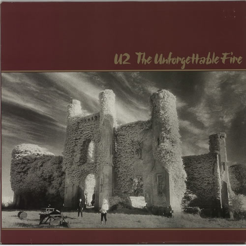 U2 The Unforgettable Fire vinyl LP album (LP record) German U-2LPTH612444