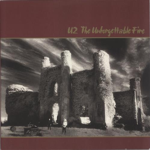 U2 The Unforgettable Fire vinyl LP album (LP record) UK U-2LPTH735671
