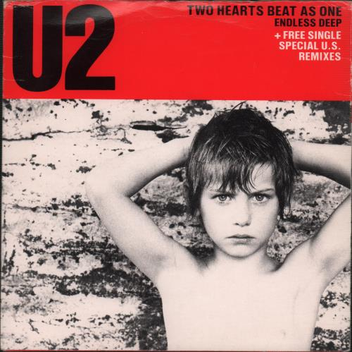 "U2 Two Hearts Beat As One - Double Pack 7"" vinyl single (7 inch record) UK U-207TW06939"