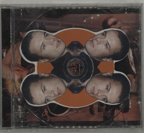"""U2 U2 Shaped Interview CD CD single (CD5 / 5"""") UK U-2C5US688585"""