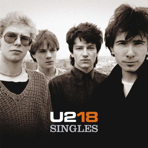 U2 U218 Singles - Sealed 2-LP vinyl record set (Double Album) UK U-22LUS764798
