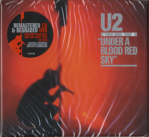 U2 Under A Blood Red Sky / Live At Red Rocks UK 2-disc CD