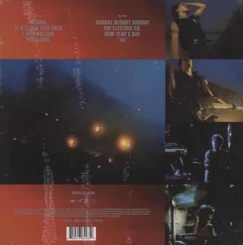 U2 Under A Blood Red Sky - 180gm - Sealed vinyl LP album (LP record) UK U-2LPUN759376