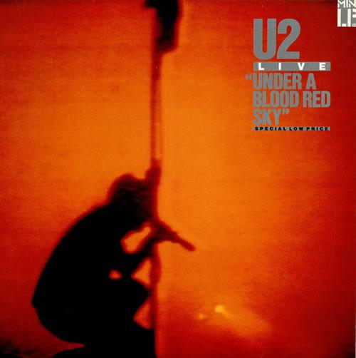 U2 Under A Blood Red Sky - 1st vinyl LP album (LP record) UK U-2LPUN50391