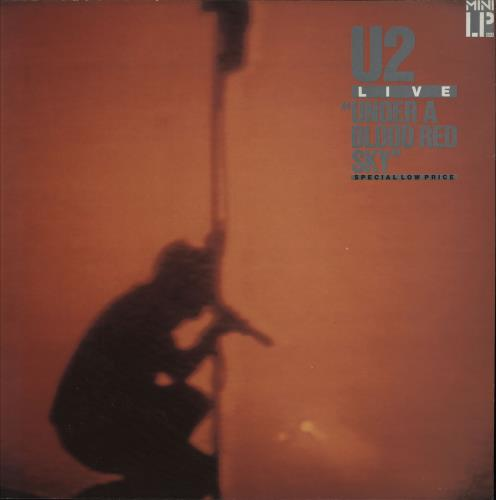 U2 Under A Blood Red Sky - 2nd vinyl LP album (LP record) UK U-2LPUN751941