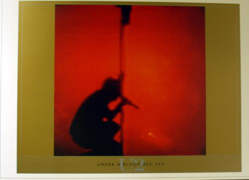 U2 Under A Blood Red Sky artwork UK U-2ARUN444913