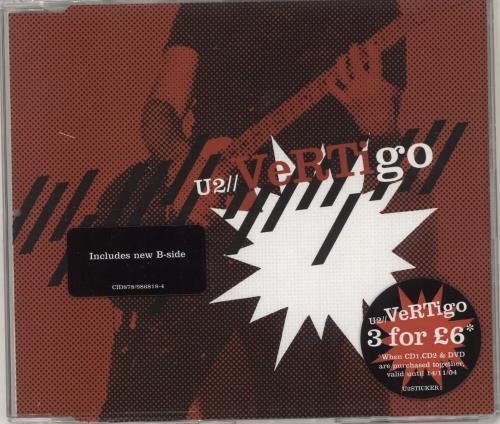 U2 Vertigo - CDs 1 & 2 2-CD single set (Double CD single) UK U-22SVE306195