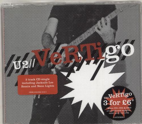 U2 Vertigo - Part 1 & 2 2-CD single set (Double CD single) UK U-22SVE306195