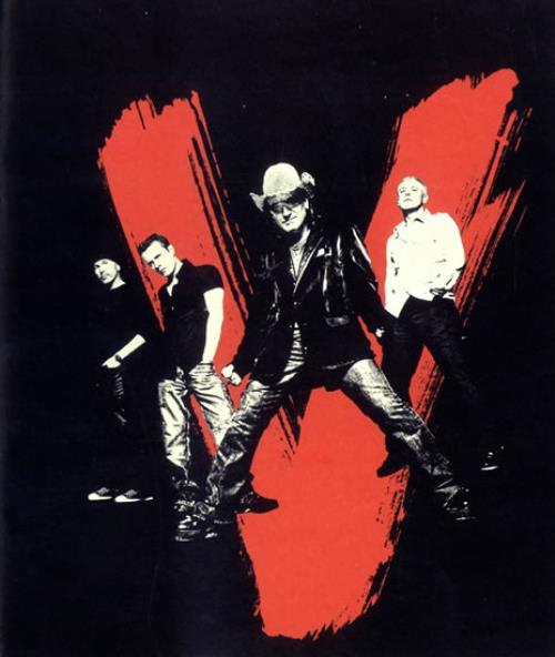 U2 Vertigo North America Leg 3 tour programme US U-2TRVE485182
