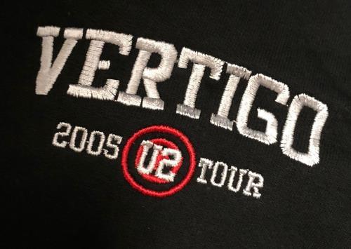 U2 Vertigo Tour 2005 - Hoodie clothing US U-2MCVE728965