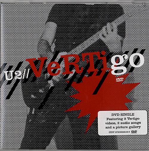 U2 Vertigo DVD Single UK U-2DSVE306196