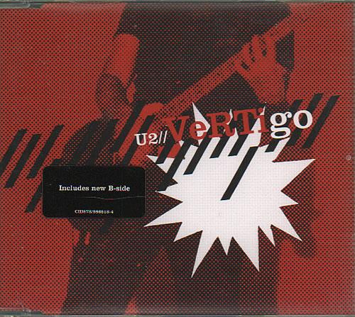 "U2 Vertigo CD single (CD5 / 5"") UK U-2C5VE352316"