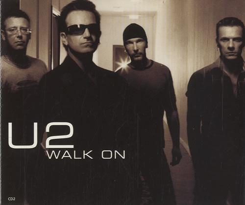 U2 Walk On 2-CD single set (Double CD single) Canadian U-22SWA198176