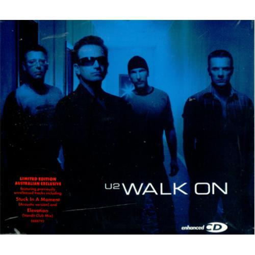 "U2 Walk On CD single (CD5 / 5"") Australian U-2C5WA414205"
