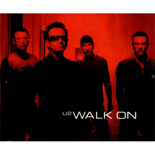 "U2 Walk On CD single (CD5 / 5"") Australian U-2C5WA420070"