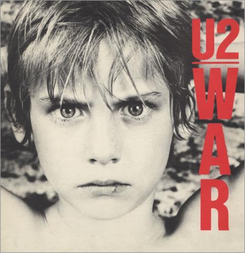 U2 War - EX vinyl LP album (LP record) UK U-2LPWA399506