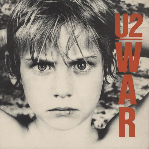 U2 War - EX vinyl LP album (LP record) UK U-2LPWA755685