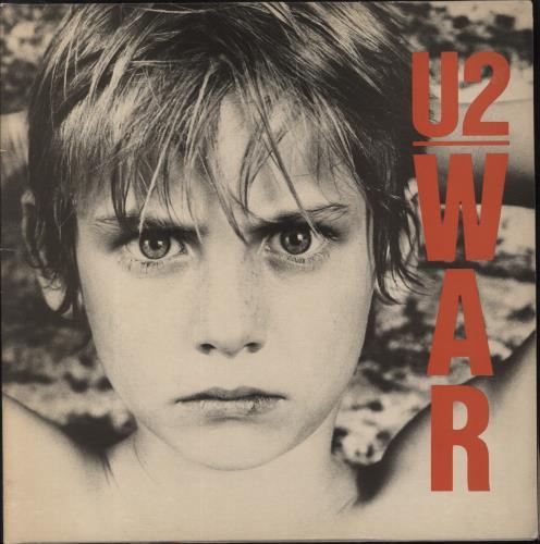 U2 War vinyl LP album (LP record) UK U-2LPWA50392