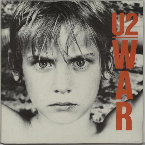 U2 War vinyl LP album (LP record) Spanish U-2LPWA676620