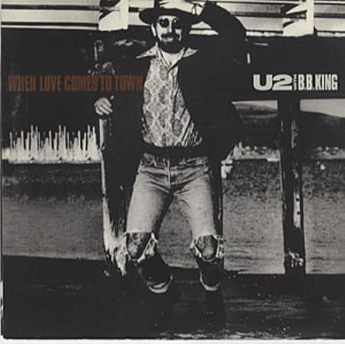 "U2 When Love Comes To Town 7"" vinyl single (7 inch record) US U-207WH222401"