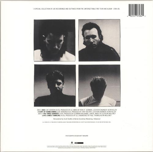 "U2 Wide Awake In America - 180gram Vinyl - Sealed 12"" vinyl single (12 inch record / Maxi-single) UK U-212WI694472"