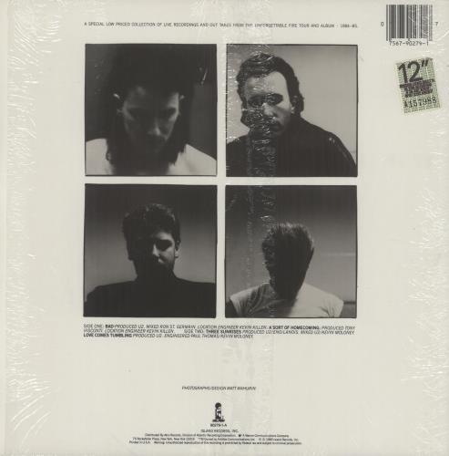"U2 Wide Awake In America - Opened shrink 12"" vinyl single (12 inch record / Maxi-single) US U-212WI753478"